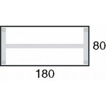 Afmeting 180x80cm