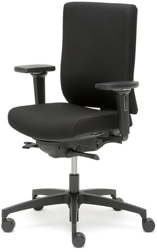 Dauphin @just Magic2  NPR1813 bureaustoel zwart