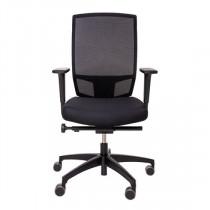 Dauphin @just Evo Mesh bureaustoel zwart