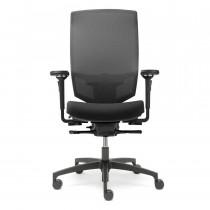 Dauphin @just Magic2 NPR 1813 Mesh bureaustoel zwart
