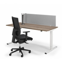 Flex eco zit/sta bureau rechthoek 160x80cm