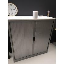 Roldeurkast 125 cm breed 135cm hoog aluminium