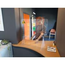 Protect baliescherm met doorgeef opening