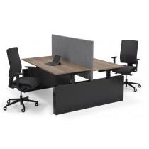 Flex 3 EL Bench Wang elektrisch zit/sta bureau