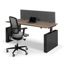 Flex 3 EL Wang elektrisch zit/sta bureau