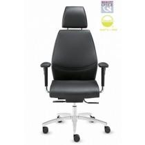 Dauphin Shape Executive bureaustoel incl. hoofdsteun